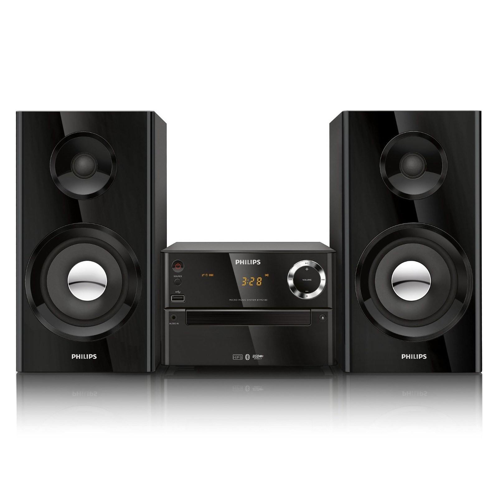 Refurbished Philips BTM2180 Micro Music System with Bluetooth