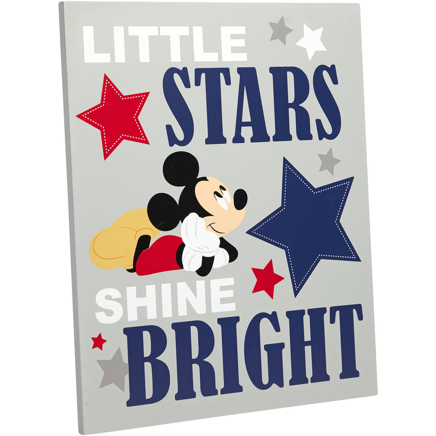 Disney Mickey Mouse Reach for the Stars Wall Decor by Crown Crafts Infant Products, Inc.