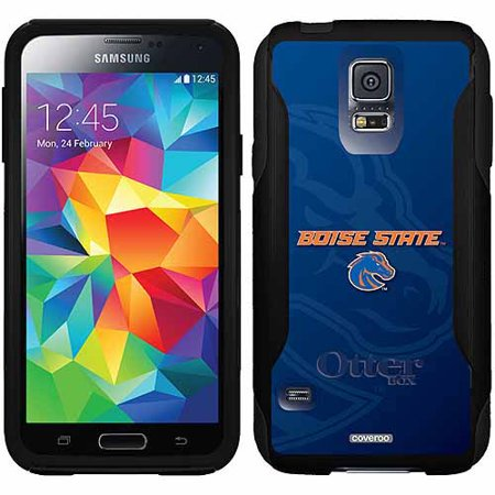 Boise State Cell Phone (Boise State Watermark Design on OtterBox Commuter Series Case for Samsung Galaxy S5 )