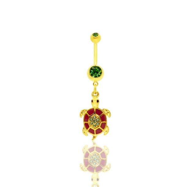 Jewels Fashion Jewels Fashion Cute Belly Button Rings Sea Turtle
