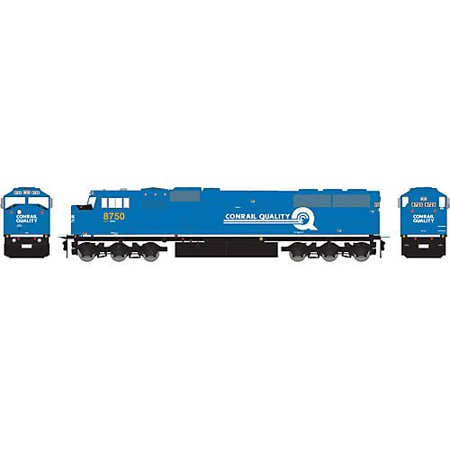 HO SD60I w/DCC & Sound, CSX/ex-CR #8750 Multi-Colored