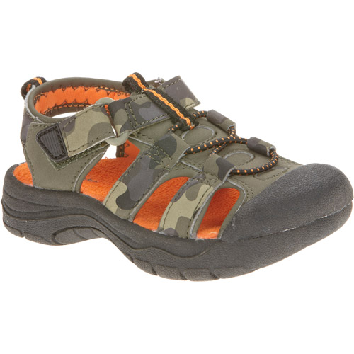 Garanimals Toddler Boys' Camo Closed Toe Fisherman Sandal