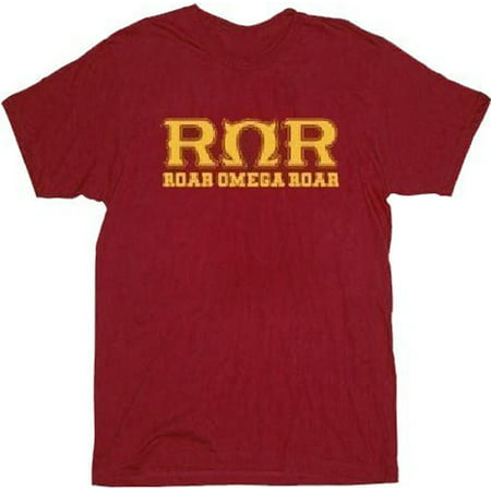 Monsters University Roar Omega Roar Adult Dark Red T-Shirt