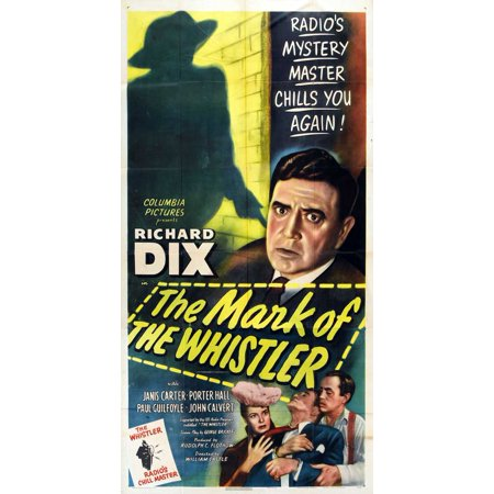 The Mark of the Whistler POSTER Movie Mini Promo - Glc Whistler Halloween