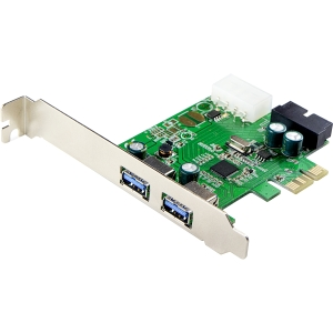 2PORT USB 3.0 PCIE 5GBPS WITH 19PIN HEADER