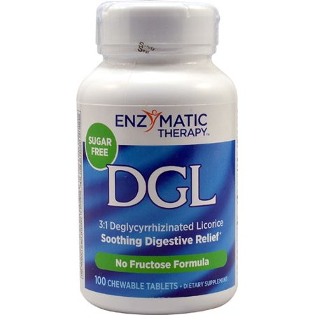 Joint Rescue Chewable - Enzymatic Therapy  DGL  Deglycyrrhizinated Licorice  100 Chewable Tablets