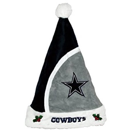 Forever Collectibles NFL 2015 Santa Hat, Dallas Cowboys