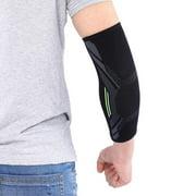 OTVIAP 1pc Black Unisex Sports Elbow Support Protector Brace Guard Protective Arm Sleeve , Elbow Wrap, Elbow Guard