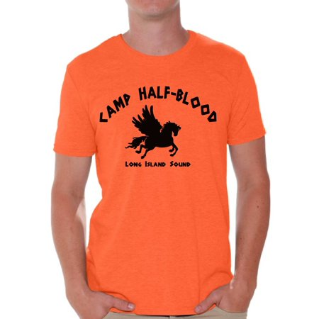Nerd T Shirts (Awkward Styles Nerd T Shirt for Him Camp Half-Blood Men T Shirt Camp Half Blood Shirt for Men Geek Tshirt Geek T-Shirt for Husband Camp Half-Blood Men Clothing Nerd Shirt)