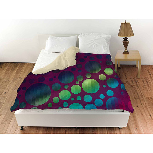 Thumbprintz Circles 1 Duvet Cover, Magenta