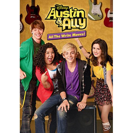 Austin & Ally: All the Write Moves! (DVD)](Austin Y Ally Halloween)