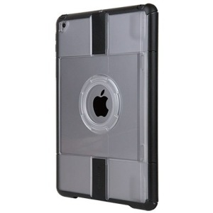 Otter Products - 77-57791 - OtterBox uniVERSE Case For iPad (5th and 6th Gen) - iPad (2018), iPad (2017) - Black, Clear