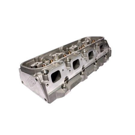 Racing Head Service (RHS) 11011 Pro Action Aluminum Racing 24 deg. Bare Cylinder Head; Big Block Chevy; 320cc Runner; 119cc Chamber; Angle Spark Plug; 2.25in.x11/32in.+0.250in. Valve
