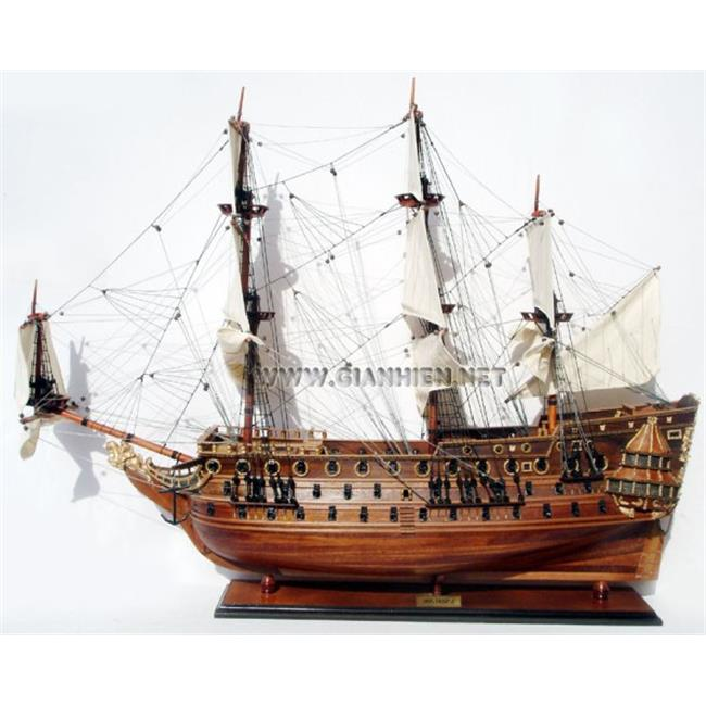 Gia Nhien TS0102W HMS Prince Wooden Model Tall Ship by Gia Nhien