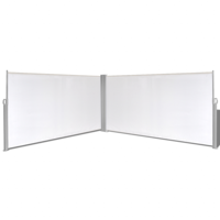 """Retractable Side Awning 63""""x236"""" Cream"""