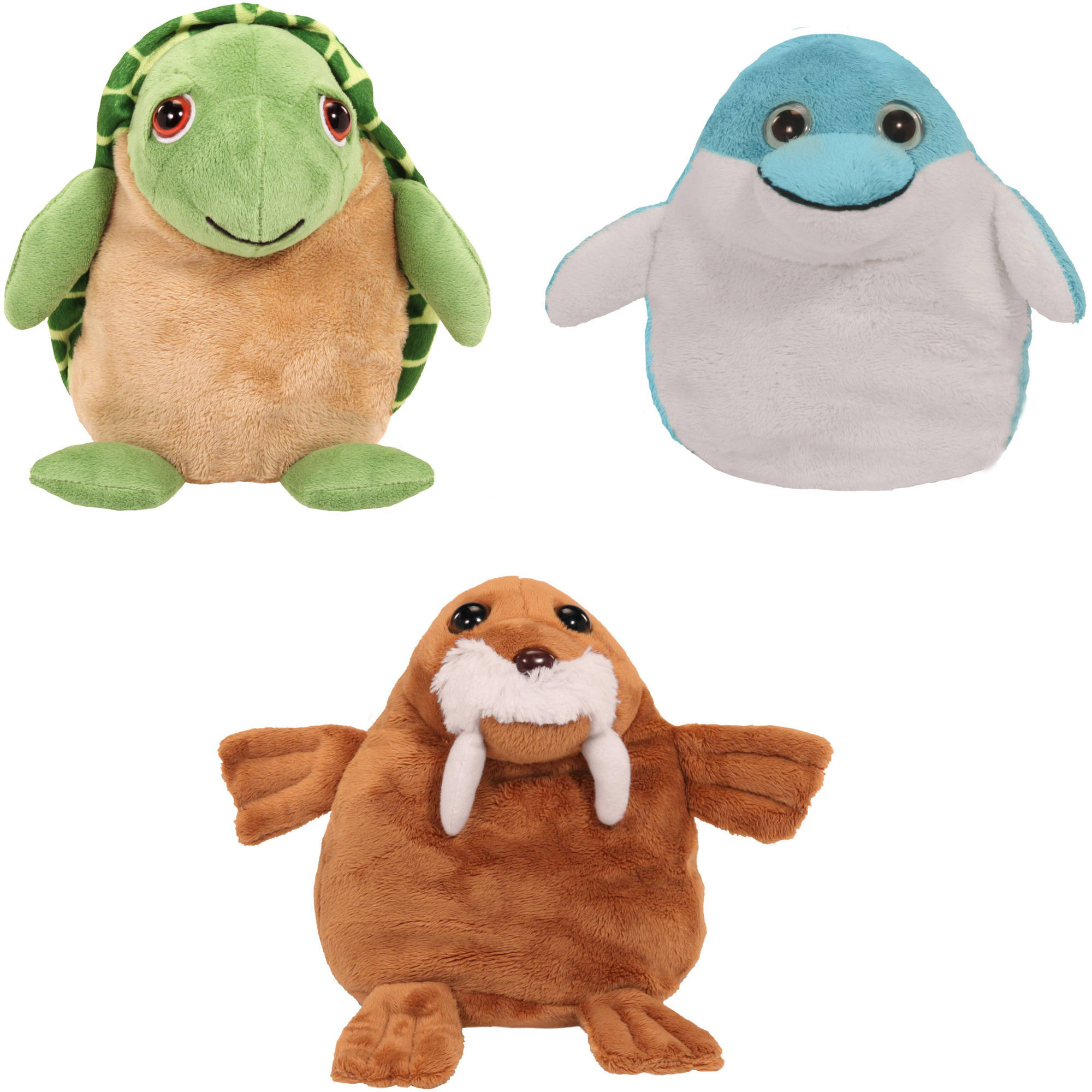 As Seen On Tv Pop Out Pets Ocean Turtle Dolphin Walrus Walmart Com