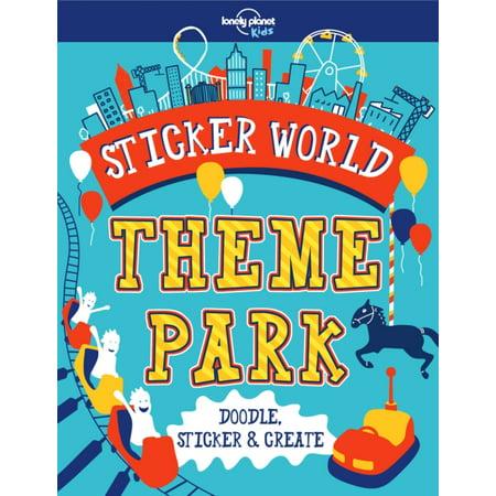 STICKER WORLD THEME PARK (Theme Park World Halloween World)