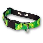 Strapworks AC-DLC112-XXL 1. 5 W inch Deluxe Line Adjustable Collar Collegiate - Oregon, XXL