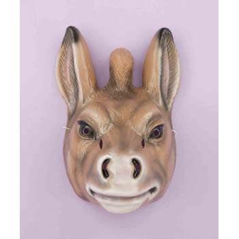 PLASTIC ANIMAL MASK-DONKEY for $<!---->