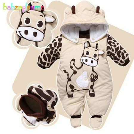 73049aa783c Aniwon 0-9Months Autumn Winter Baby Girls Boys Rompers Cartoon Cute ...