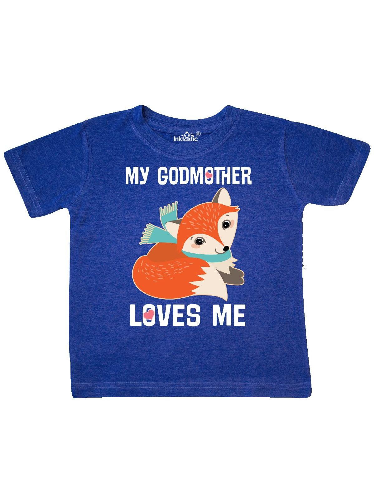 Godmother Loves Me Fox Toddler T-Shirt