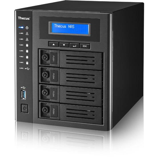 Thecus N4810 4-Bay NAS Intel Celeron N3160 1.6GHz, 4GB RAM, 4x USB 3.0