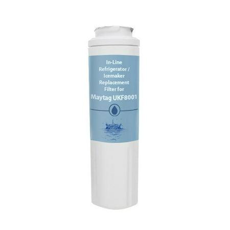 Replacement AquaFresh  Water Filter for Amana AFI2538AEW Refrigerators Aqua Fresh ()