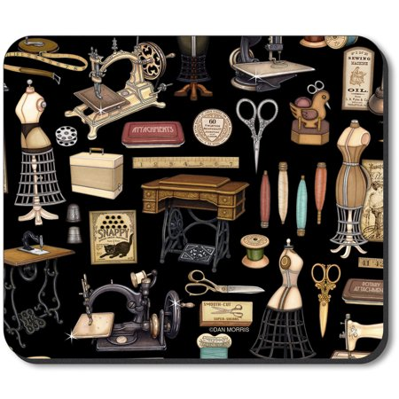 Art Plates Mouse Pad   Tailoring Supplies