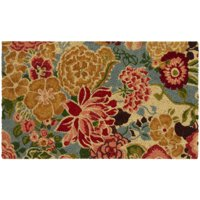 "Mainstays Palace Garden Coir Doormat, 18"" x 30"""
