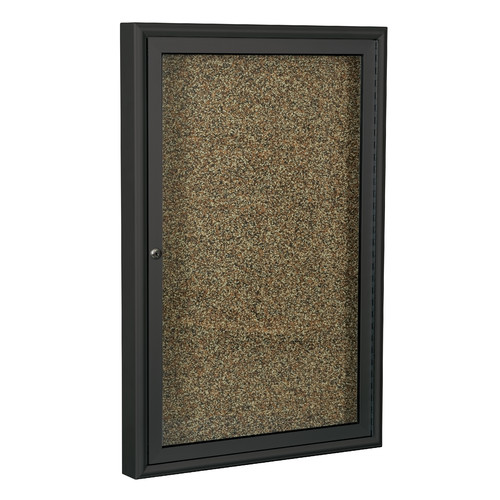 Best-Rite Rubber Tak Enclosed Bulletin Board