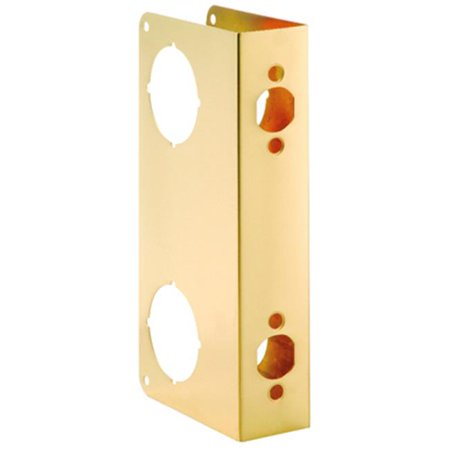 BELWITH PRODUCTS LLC Door Reinforcer Polished Brass 2258 PB