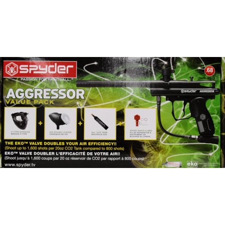 Spyder Aggressor Paintball Marker Kit