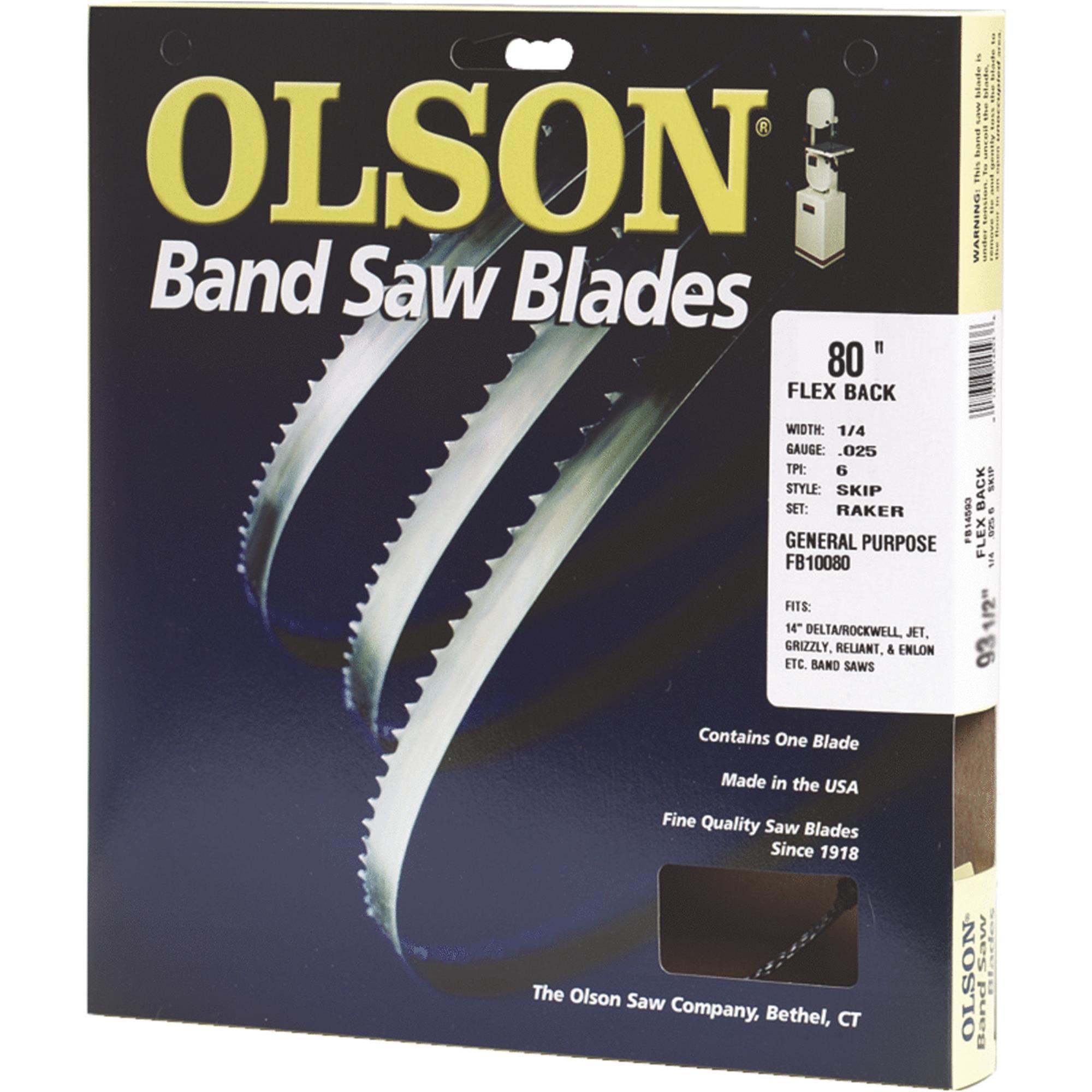 Olson Flex Back Band Saw Blade