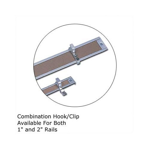 Marsh .5Map Rail Accessories - Combination Hook/Clip (Set of 4)