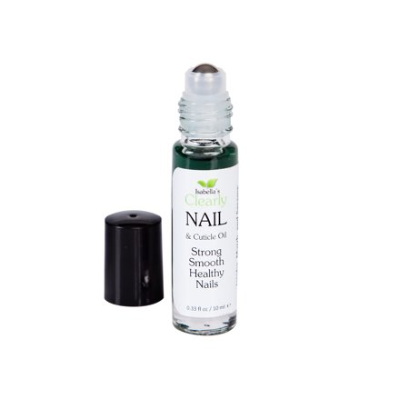 Isabella's Clearly NAIL - Nail and Cuticle Oil Treatment for Dry Cuticles and Brittle Nails. All Natural Oils with Tea Tree, Myrrh and Tansy (0.3