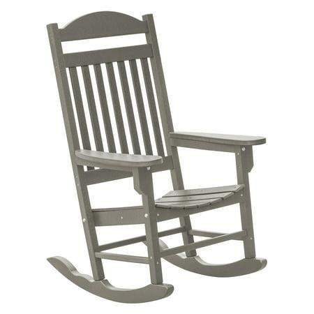 Wildridge Heritage Traditional Patio Plastic Rocking Chair