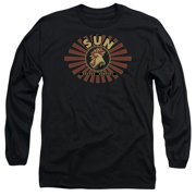 Sun Records Ray Rooster Mens Long Sleeve Shirt