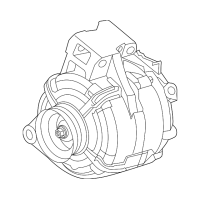 Genuine OE GM Alternator 13512759