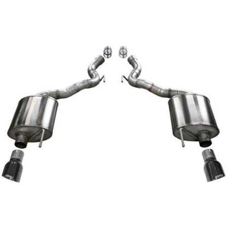 4.5 ft. Touring Axle-Back Exhaust, Black Touring Axle Back Exhaust