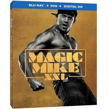 Magic Mike Xxl  Blu Ray   Dvd   Digital Hd With Ultraviolet