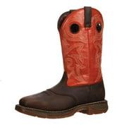 Durango Men's Workin' Rebel Orange Casual Boot 13 M