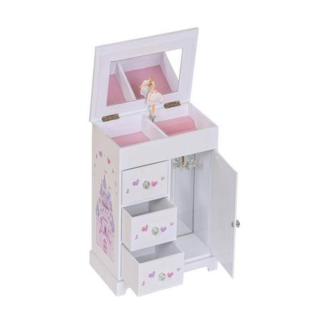 Mele & Co. Adalyn Girls Musical Ballerina Jewelry Box