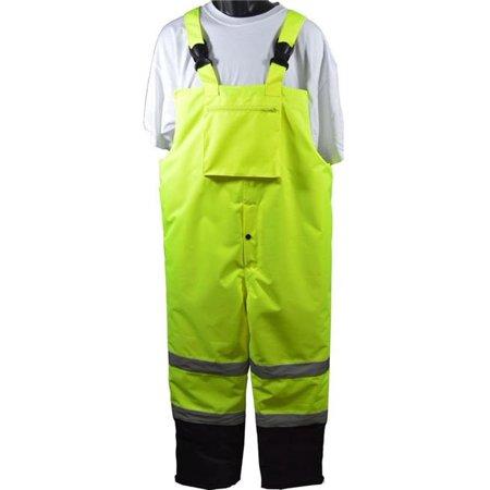 Small Waterproof Pants - petra roc lqbbip-ce-s ansi-isea 107-2015 class e waterproof quilted thermal bib rain pants, small