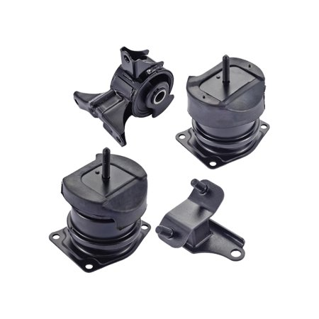 For 1999 2000 2001 2002 2003 Acura TL 3.2L V6 Engine Motor & Trans Mount Set 4PCS A4507, A6552, A6579,