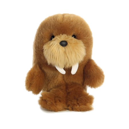 World Rolly Pet Waldo Walrus Plush, 5