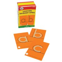 Didax Tactile Sandpaper Lowercase Letters