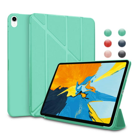 2018 iPad Pro 11 Case, Cases Cover For A1980 A2013 A1934 A1979, Njjex Lightweight Smart Case Stand Auto Sleep/Wake, Microfiber Lining, Hard Back Cover For Apple iPad Pro 11 Inch (2018) -Turquoise