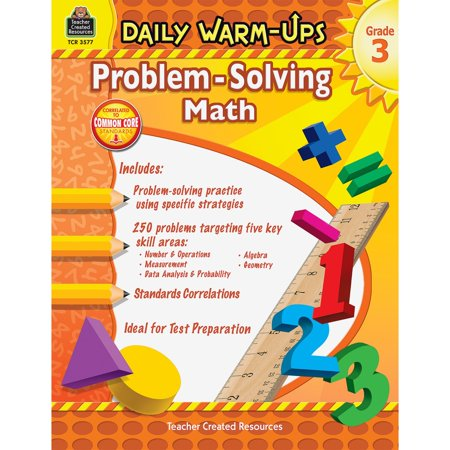Teacher Created Resources, TCR3577, Gr 3 Daily Math Problems Book, 1 Each - Resources For English Teachers Halloween