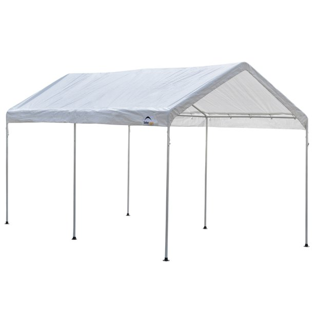 ShelterLogic MaxAP Carport Canopy, 9 x 16 ft, White, Easy ...