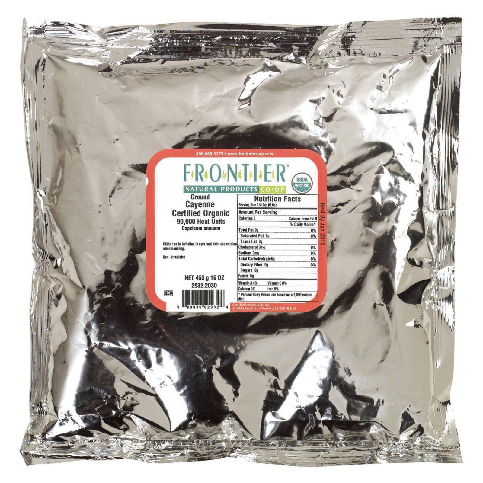 Frontier Herb Chili Pepper - Organic - Cayenne - Ground -...